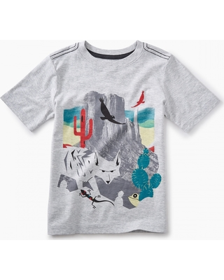 Tea Collection Canyon Lands Graphic Tee