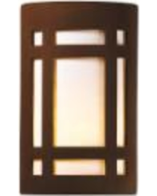 Justice Design Group Ambiance 12 Inch Wall Sconce - CER-5495-RRST
