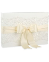 Ivy Lane Design™ Chantilly Lace Guest Book in Ivory