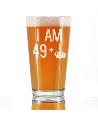 Amazing Deals On 49 1 Middle Finger 16 Oz Pint Glass For Beer