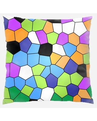 Stained Glass Throw Pillow Rug Tycoon
