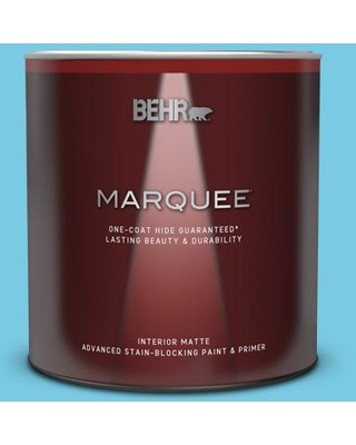 Find Savings On Behr Marquee 1 Qt P490 3 Big Chill Matte Interior Paint Primer