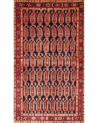 Bloomsbury Market Oxfield Traditional Red/Brown/Blue Area Rug W001923053 Rug Size: Rectangle 2' x 3'