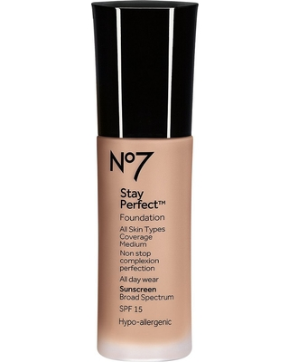 No7 Stay Perfect Foundation SPF 15 Cool Beige - 1oz