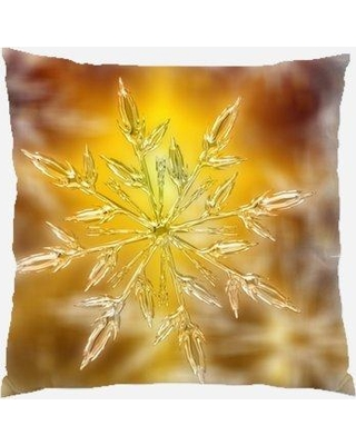 Deals On The Holiday Aisle Wentzville Background Indoor Outdoor Canvas Throw Pillow Polyester Polyfill In Brown Size 18x18 Wayfair