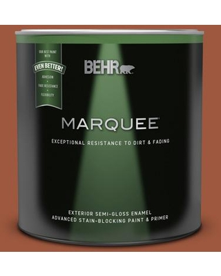 Don T Miss These Deals On Behr Marquee 1 Qt Home Decorators Collection Hdc Ac 01 Nouveau Copper Semi Gloss Enamel Exterior Paint And Primer