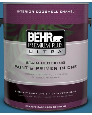 BEHR ULTRA 1 gal. #T18-14 Soul Search Eggshell Enamel Interior Paint and Primer in One