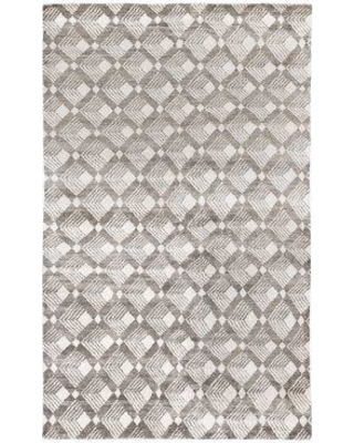 Mercer41 Octavius Hand-Knotted Brown Area Rug W001427532 Rug Size: Rectangle 6' x 9'