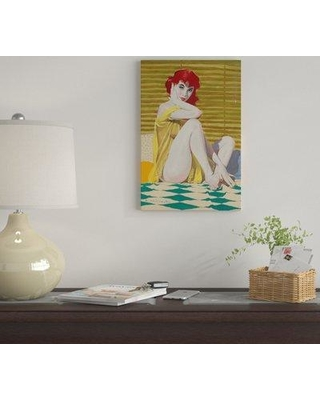 "East Urban Home 'Come Hither' by Ernest Chiriacka Graphic Art Print on Wrapped Canvas EUME4357 Size: 26"" x 18"" x 1.5"""