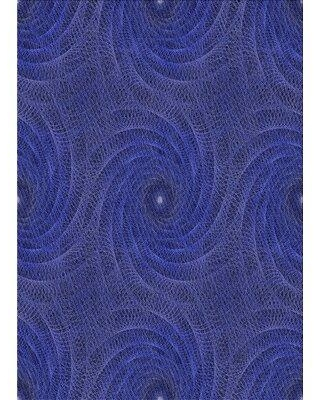 East Urban Home Abstract Wool Blue/Gray Area Rug X113649147 Rug Size: Rectangle 2' x 4'
