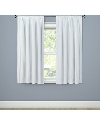 Blackout Curtain Panel Henna White 84 - Project 62