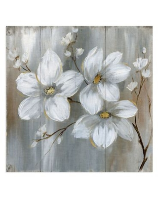 Masterpiece Art Gallery Summer in Neutral II 16-Inch Square Canvas Wall Art