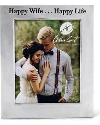 Arthur Court Designs Happy Wife Picture Frame 718M22