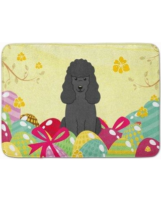 Find Big Savings On The Holiday Aisle Saroyan Easter Eggs Poodle Memory Foam Bath Rug Polyester In Black Size 27 H X 19 W Wayfair Thla4328 39992384