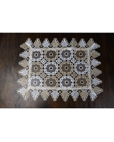 Find Savings On Dimatteo Hand Beaded Design 19 Placemat Rosdorf Park Color Pewter