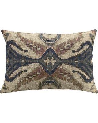Amazing Sales On Bloomsbury Market Hodson Global Ikat Linen Throw Pillow Polyester Polyfill In Brown Gray Silver Size 12x18 Wayfair