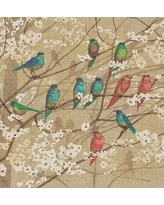 August Grove Summer Birds and Blossoms Shower Curtain AGGR7715