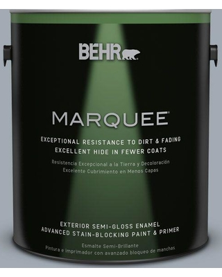 BEHR MARQUEE 1 gal. #T13-6 Twilight Semi-Gloss Enamel Exterior Paint and Primer in One