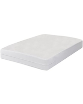 All-In-One Bed Bug Blocker Non-Woven Box Spring Encasement Hypoallergenic and Waterproof Zippered Mattress Protector Fresh Ideas Size: Twin