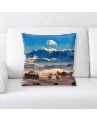 East Urban Home Switzerland Throw Pillow W000965634