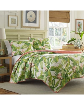 Tommy Bahama® Aregada Dock 3-Piece Reversible King Quilt Set in Ecru