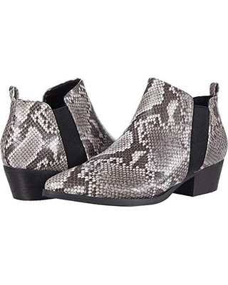 Report Women's Bootie Ankle Boot, Grey Multi, 6.5
