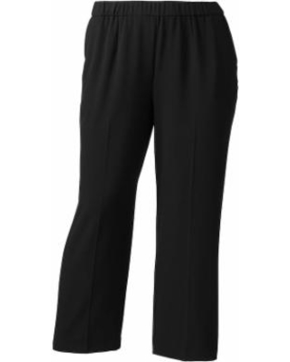 Plus Size Croft & Barrow® Polished Pull-On Pants, Women's, Size: 16W Short, Black
