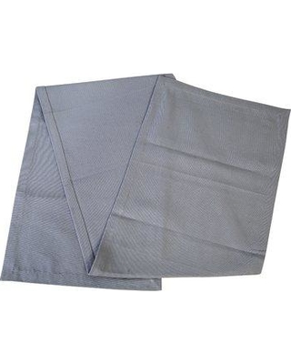 Highland Dunes Chen Cotton Table Runner HLDS6098 Color: Cool Gray