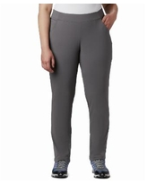 Columbia Plus Size Anytime Casual Pull-On Pants - City Grey