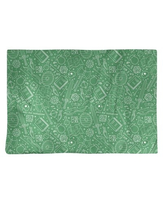 """Classic RPG 18"""" Placemat East Urban Home Color: Green/White"""