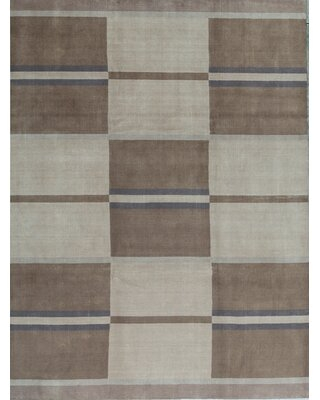 The Best Sales For Gabbeh Geometric Hand Knotted Wool Brown Area Rug Bokara Rug Co Inc