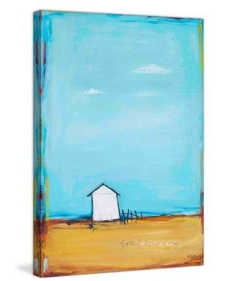 """Highland Dunes 'Soul Happy' by Tori Campisi Painting Print on Wrapped Canvas MH-TORI-114-C- Size: 12"""" H x 8"""" W"""