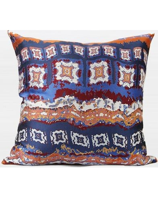 G Home Collection Luxury Tribe Jacquard Throw Pillow ML141040-d / ML141041-d Color: Tangerine