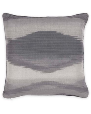 Bed Inc. Kingston Square Throw Pillow in Grey/Black