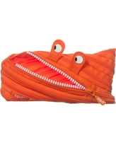 Monster Pencil Case - Orange