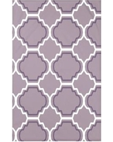 """e by design Road to Morocco Geometric Print Polyester Fleece Throw Blanket HGN239 Size: 60"""" L x 50"""" W x 0.5"""" D, Color: Smog"""