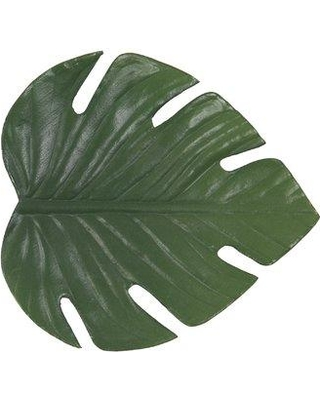 Front Of The House Philodendron Leaf Coaster (Set of 8) XCO004GRV83