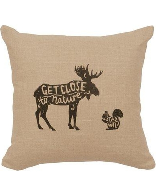 Loon Peak Neale Close to Nature Throw Pillow LNPE2652 Color: Natural