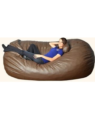Fine Bay Isle Home Bay Isle Home Breton Bean Bag Sofa Bayi5734 Upholstery Faux Leather Brown From Wayfair People Pabps2019 Chair Design Images Pabps2019Com