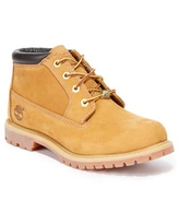 Timberland Women's Nellie Lace Up Utility Waterproof Lug Sole Boots - Wheat
