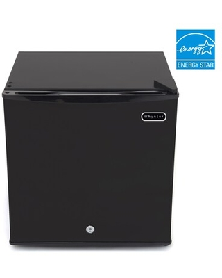 Whynter Upright Freezer with Lock 1.1 cu. ft. Energy Star (CUF-110B), Black | Quill
