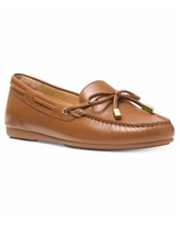 Michael Michael Kors Women's Sutton Moccasin Flat Loafers - Luggage Brown