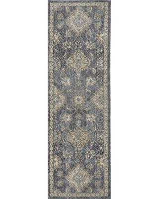 Great Prices For Canora Grey Runner Caitlin Oriental Tufted Wool Slate Gray Area Rug Wool In Gray Silver Size 27 W X 90 D Wayfair
