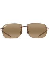 Maui Jim Breakwall Polarized Sunglasses - One Size - Rootbeer / HCL Bronze