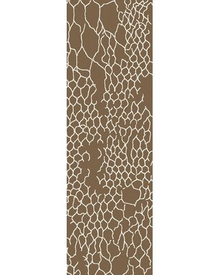 Big Deal On Frisch Hand Knotted Mocha Area Rug Millwood Pines Rug Size Rectangle 3 3 X 5 3