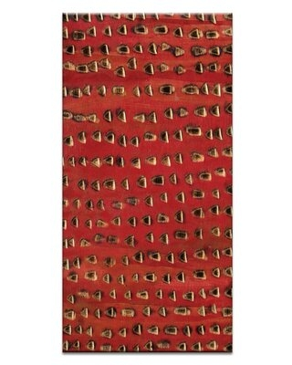 """Ad Infinitum 16 by Katherine Boland Painting Print on Wrapped Canvas Artist Lane Size: 60"""" H x 30"""" W x 1.5"""" D"""