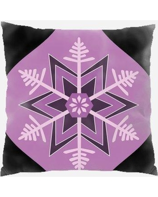 Find Deals On The Holiday Aisle Rayden Ornament Indoor Outdoor Canvas Throw Pillow Polyester Polyfill In Black Size 18x18 Wayfair
