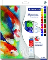 Staedtler Water Color Paint Learning and Development (8880 C24A6)