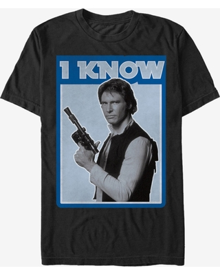 Star Wars Han Solo Quote I Know T-Shirt