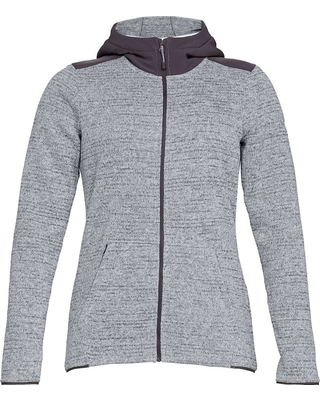 Under Armour Women's Wintersweet 2.0 Hoodie - Small - Overcast Gray / Overcast Gray / White